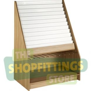 12 Tier Card & Giftwrap Display Unit