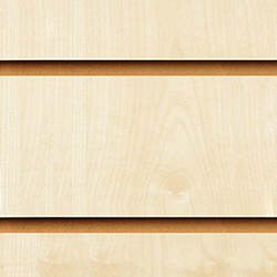 Maple Slatwall Panels 2400 x 1200
