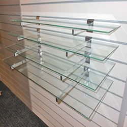 600x310mm Glass Shelves