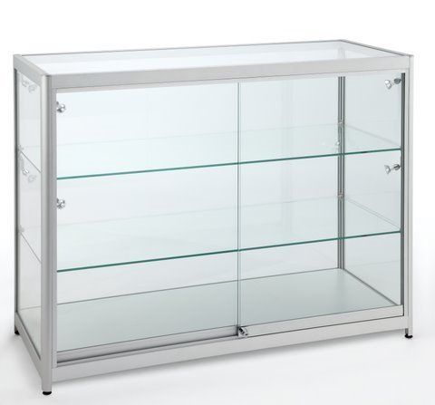 Full Glass Counter 1200Wx900Hx600D
