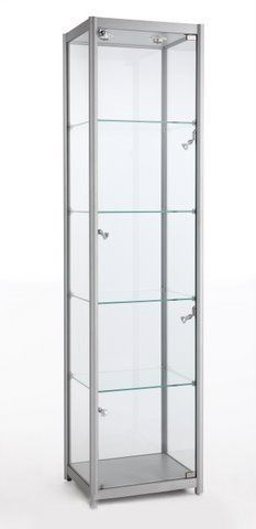Glass Tower Showcase 500Wx1980Hx400D