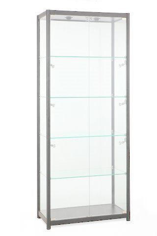 Glass Showcase 800Wx1980Hx400D