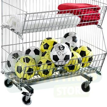 Standard Stacking Baskets - With Wheels