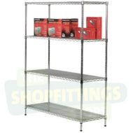 Chrome Shelving Unit - 1220mm Tall