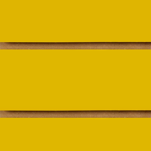 Yellow Slatwall Panels 2400 x 1200
