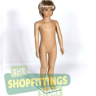 Uni Sex Child Mannequin With Make Up Face Age 5-6